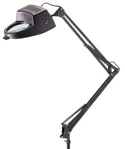 ALVIN-Magnifier-Swing-arm-Lamp-Black-0