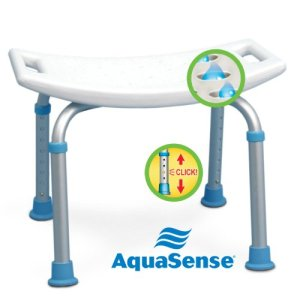 AquaSense-Adjustable-Bath-and-Shower-Chair-with-Non-Slip-Seat-White-0-0