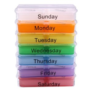 Vakind-Weekly-Medicine-Storage-7-Day-Tablet-Pill-Sorter-Organizer-Box-Holder-Container-0