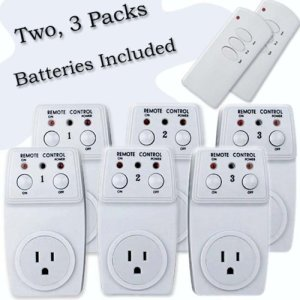 Wireless-Remote-Control-Outlet-Switch-Two-3-Packs-6-Outlets-for-Appliances-Lamps-Air-Conditioners-or-any-Electrical-Equipment-0