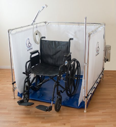 bariatric wheelchair accessible shower stall for the disabled 10