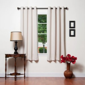Best-Home-Fashion-Beige-Grommet-Top-Thermal-Insulated-Blackout-Curtain-52-W-X-63-L-1-Pair-GT-0-2