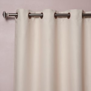 Best-Home-Fashion-Beige-Wide-Width-Grommet-Top-Thermal-Blackout-Curtain-100W-X-84L-1-Panel-BWW-0-0