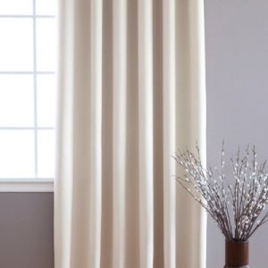Best-Home-Fashion-Beige-Wide-Width-Grommet-Top-Thermal-Blackout-Curtain-100W-X-84L-1-Panel-BWW-0-1