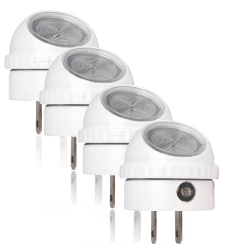 2x Led Night Light Automatic Dusk To Dawn Sensor For: Orksun Automatic Dusk-to-Dawn White LED Night Light W