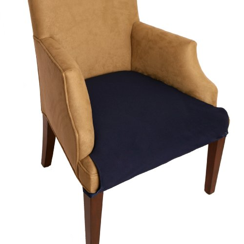 smartseat dining chair cover and protector chocolate brown