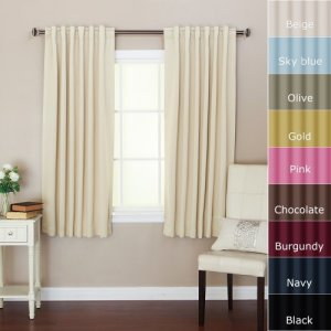 Solid-Thermal-Insulated-Back-Tap-Blackout-Curtain-52W-x-63L-1-Set-Beige-0