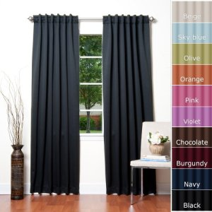 Solid-Thermal-Insulated-Blackout-Curtain-84L-X-52W-1-Set-BLACK-0