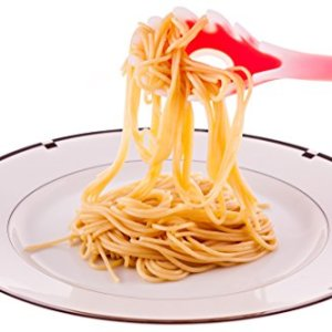 4-piece-Kitchen-Cooking-Utensil-Gadget-Set-Made-of-One-Piece-Silicone-Includes-Ladle-Slotted-Turner-Spoon-Pasta-Fork-0-0