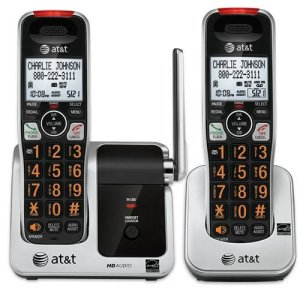 ATT-2-HANDSET-CORDLESS-TELEPHONE-FOR-VISION-HEARING-CHALLENGED-0