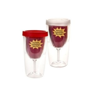 Acrylic-Wine-Glass-Tumbler-Insulated-Double-Walled-Cups-with-Spill-Proof-Drink-Through-Lid-9-Ounce-Set-of-2-0