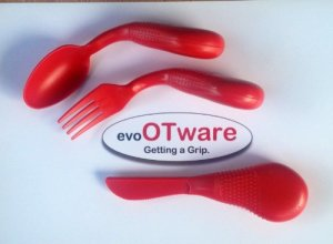 Adaptive-Eating-Utensils-Evo-OT-Ware-Easy-Grip-Utensils-0
