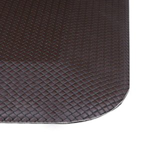 Anti-Fatigue-Comfort-Floor-Mat-By-Sky-Mats-Commercial-Grade-Quality-Perfect-for-Standup-Desks-Kitchens-and-Garages-Relieves-Foot-Knee-and-Back-Pain-Dark-Maple-Brown-Free-Lifetime-Warranty-0-3