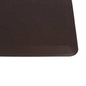 Anti-Fatigue-Comfort-Floor-Mat-By-Sky-Mats-Commercial-Grade-Quality-Perfect-for-Standup-Desks-Kitchens-and-Garages-Relieves-Foot-Knee-and-Back-Pain-Dark-Maple-Brown-Free-Lifetime-Warranty-0-4