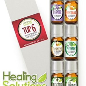 Aromatherapy-Top-6-Organic-100-Pure-Therapeutic-Grade-Basic-Sampler-Essential-Oil-Gift-Set-610-ml-Lavender-Frankincense-Eucalyptus-Rosemary-Sweet-Orange-Peppermint-Pharma-Grade-0
