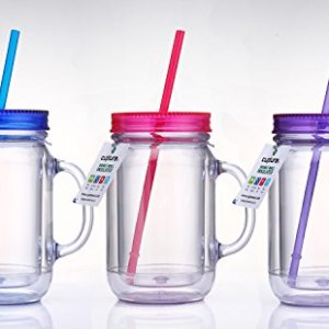 Cupture-Double-Wall-Insulated-Plastic-Mason-Jar-Tumbler-Mug-20-oz-3-Pack-0