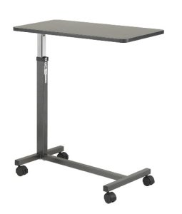 Drive-Medical-Non-Tilt-Top-Overbed-Table-Silver-Vein-0