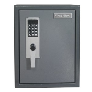 First-Alert-2077DF-Anti-Theft-Safe-with-Digital-Lock-12-Cubic-Foot-Gray-0-1
