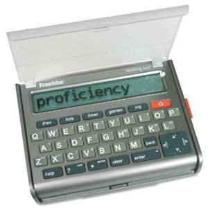 Franklin-Electronic-Publishers-SA-309-Spelling-Ace-Thesaurus-with-Merriam-Webster-Puzzle-solver-0