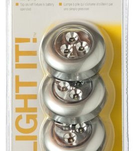 Fulcrum-30010-301-LED-Battery-Operated-Stick-On-Tap-Light-Silver-3-Pack-0-2