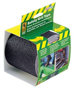 Incom-RE3952-Black-Gator-Grip-Anti-Slip-Safety-Grit-Tape-4-Inch-by-15-Foot-0