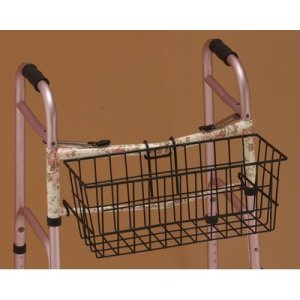 Nova-MedicalProducts-Hospital-Healthcare-Daily-Living-Mobility-Aid-Accessories-Folding-Walker-Basket-437B-0