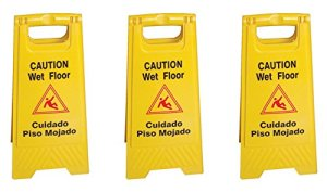 Tiger-Chef-Yellow-Wet-Floor-Caution-Sign-2-sided-Fold-out-Floor-Safety-Sign-Caution-Wet-Floor-24-inch-By-12-inch-Cuadado-Piso-Mojado-3-0