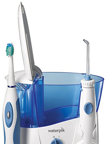 waterpik complete care water flosser and sonic toothbrush wp 900. Black Bedroom Furniture Sets. Home Design Ideas