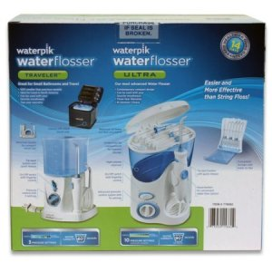 Waterpik-Waterflosser-Ultra-and-Waterpik-Traveler-Flosser-plus-12-Accessory-Tips-Tip-Storage-Case-0