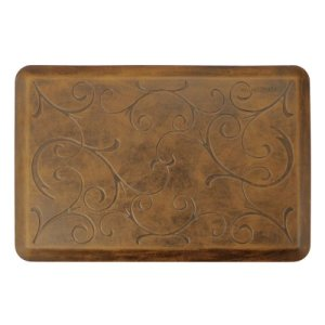 WellnessMats-Antique-Collection-Motif-Light-Brown-Bella-Mat-36-X-24-Inch-0