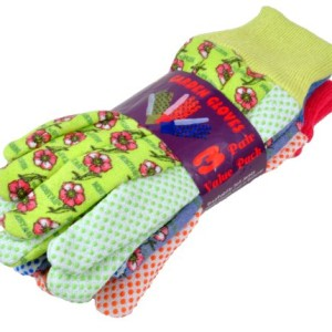 G-F-1852-3-Women-Soft-Jersey-Garden-Gloves-3-Pairs-GreenPinkBlue-per-Pack-0-3