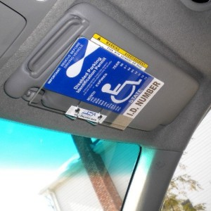 Handicap-Placard-Cover-and-Holder-Horizontal-VisorTag-VTDH130-Easily-Display-Swing-Away-Your-Disabled-Parking-Placard-Best-Handicapped-Parking-Tag-Holder-and-Protector-Available-Dont-Settle-for-a-Chea-0-1