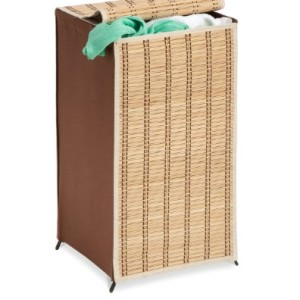Honey-Can-Do-HMP-01619-Tall-Wicker-Weave-Hamper-Bamboo-Laundry-Organizer-0