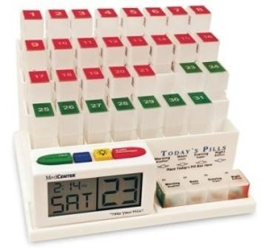 MedCenter-70265-31-Day-Pill-Organizer-with-Reminder-System-0