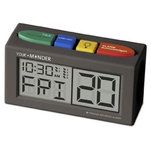 MedCenter-Your-Minder-Interactive-6-Personalized-10-sec-Reminder-Clock-with-AC-Adapter-0