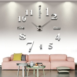 Modern-3D-Frameless-Large-Wall-Clock-Style-Watches-Hours-DIY-Room-Home-Decorations-Model-MAX3-6-Nail-Sticker-gift-0