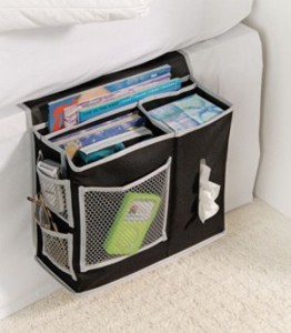 Richards-Homewares-6-Pocket-Bedside-Storage-Mattress-Book-Remote-Caddy-0
