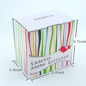 Samyo-100ml-Aromatherapy-Essential-Oil-Purifier-Diffuser-Air-Humidifier-with-4-Timer-Settings-6-Colors-Changing-Light-0-1