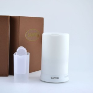 Samyo-100ml-Aromatherapy-Essential-Oil-Purifier-Diffuser-Air-Humidifier-with-4-Timer-Settings-6-Colors-Changing-Light-0