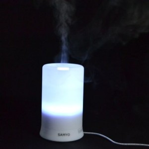 Samyo-100ml-Aromatherapy-Essential-Oil-Purifier-Diffuser-Air-Humidifier-with-4-Timer-Settings-6-Colors-Changing-Light-0-5