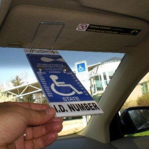 VisorTag-Vertical-Mount-VTD110-by-JL-Safety-The-Best-Way-to-Protect-Display-Swing-Away-a-Handicap-Parking-Placard-Best-Handicapped-Placard-Cover-and-Protector-on-the-Market-Dont-Settle-for-a-Cheap-Han-0-0