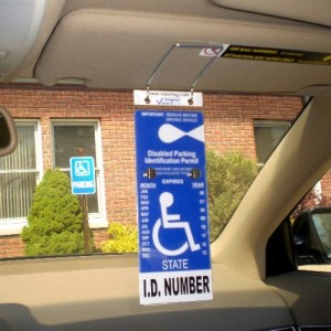VisorTag-Vertical-Mount-VTD110-by-JL-Safety-The-Best-Way-to-Protect-Display-Swing-Away-a-Handicap-Parking-Placard-Best-Handicapped-Placard-Cover-and-Protector-on-the-Market-Dont-Settle-for-a-Cheap-Han-0